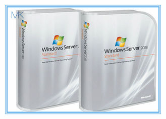 China Versions-Standard Microsoft Windows-Server-2008 umfasst 5 Kunden englische Aktivierung online fournisseur