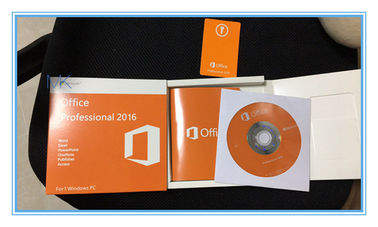 China Echtes Microsoft Office-Fachmann-Produkt-optionale Schlüsselsprache 2016 mit DVD usine
